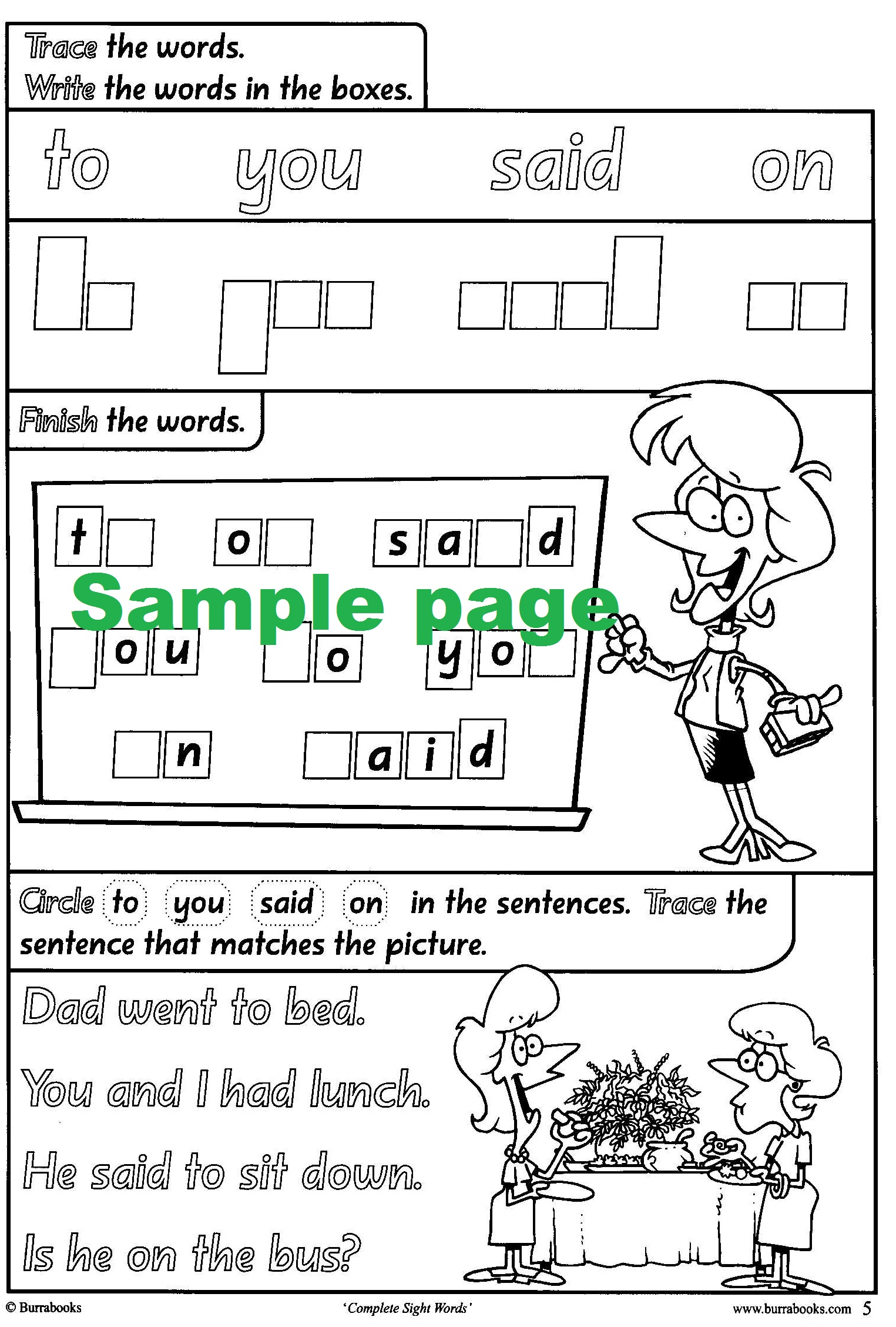 Complete Sight Words-41816