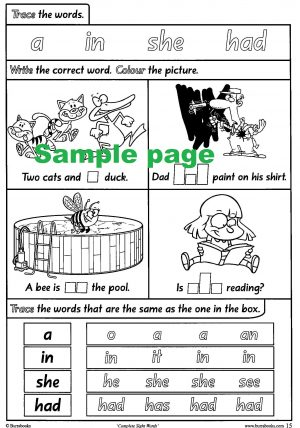 Complete Sight Words-41818