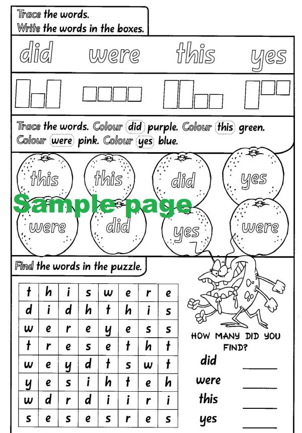 Complete Sight Words-41819