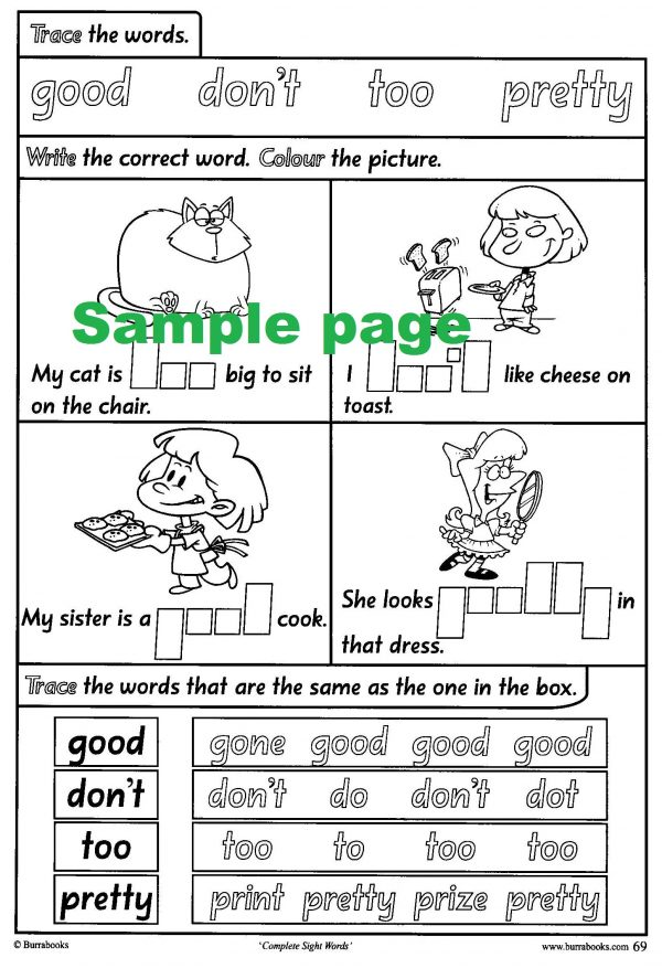 Complete Sight Words-41821