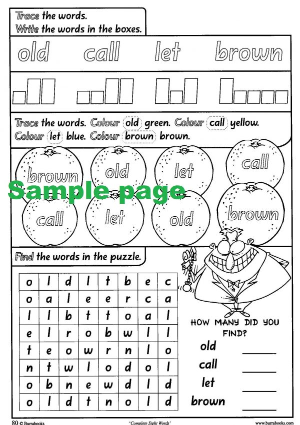 Complete Sight Words-41820