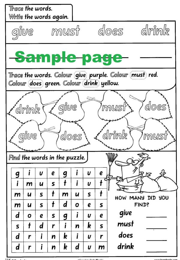 Complete Sight Words-41817