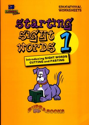 Starting Sight Words- Book One-41867