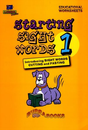 Starting Sight Words- Book One-0