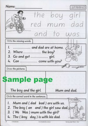 Starting Sight Words- Book One-41876