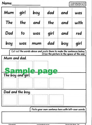 Starting Sight Words- Book One-41872