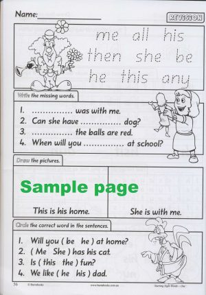 Starting Sight Words- Book One-41870