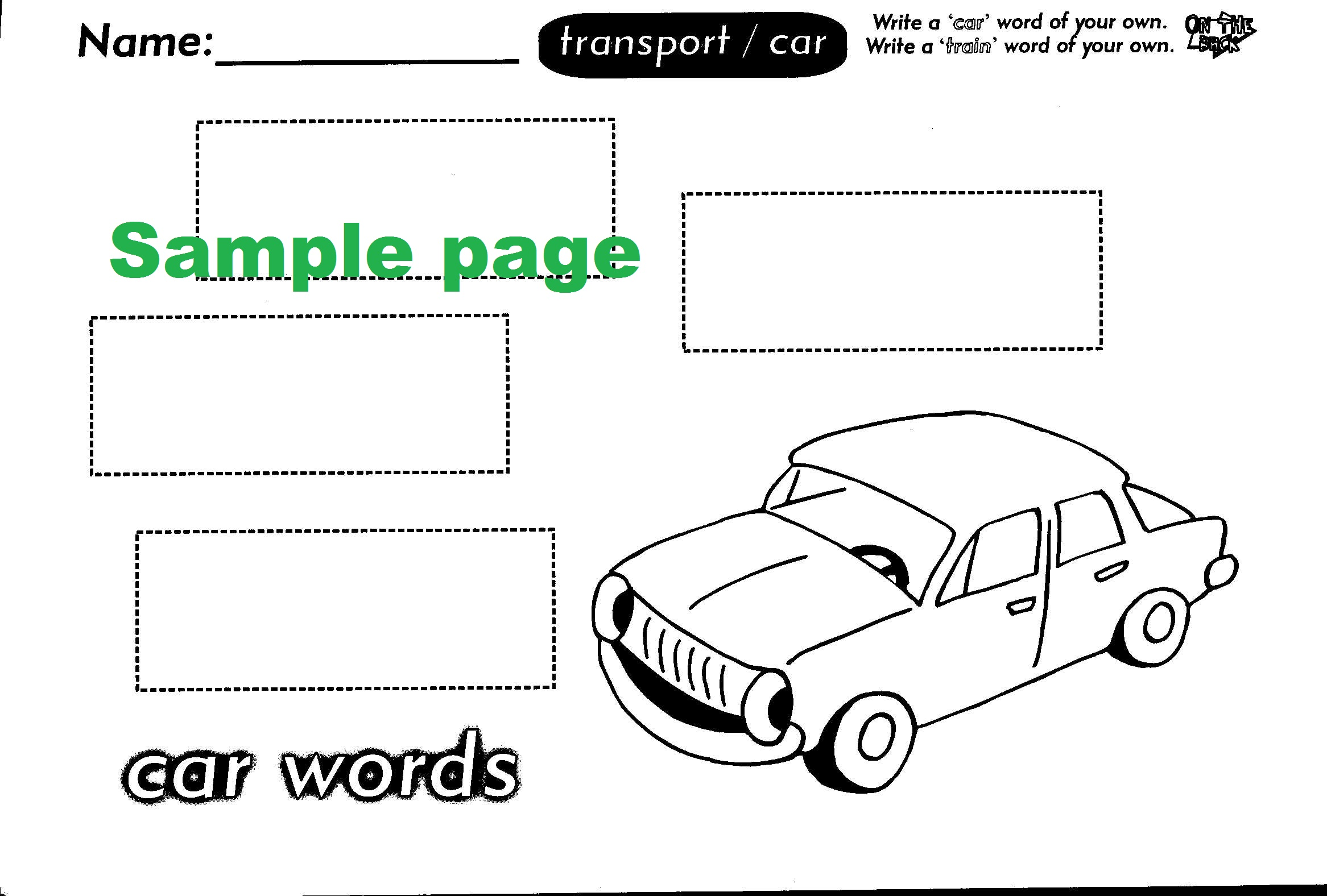 Cut and Paste Words-41923