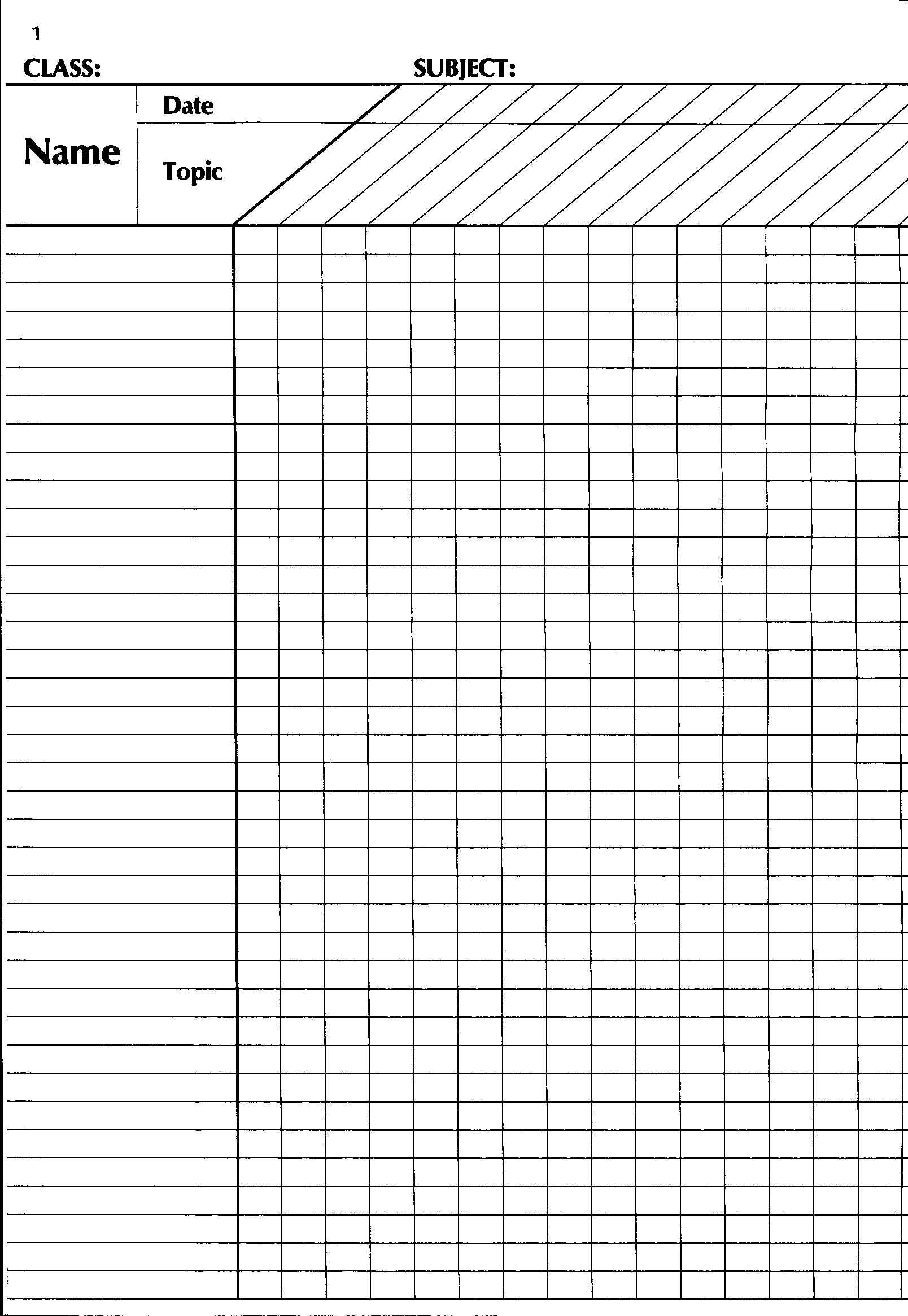 Continuous Assessment Check List -42091
