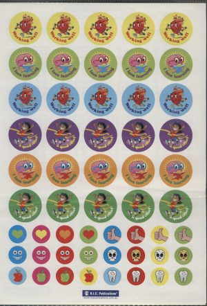 Our Body Stickers 270