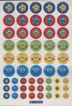 Stars and Smileys Stickers 270