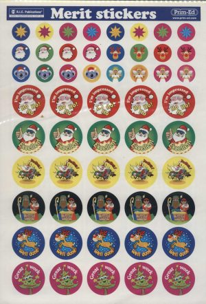 Christmas Stickers 270
