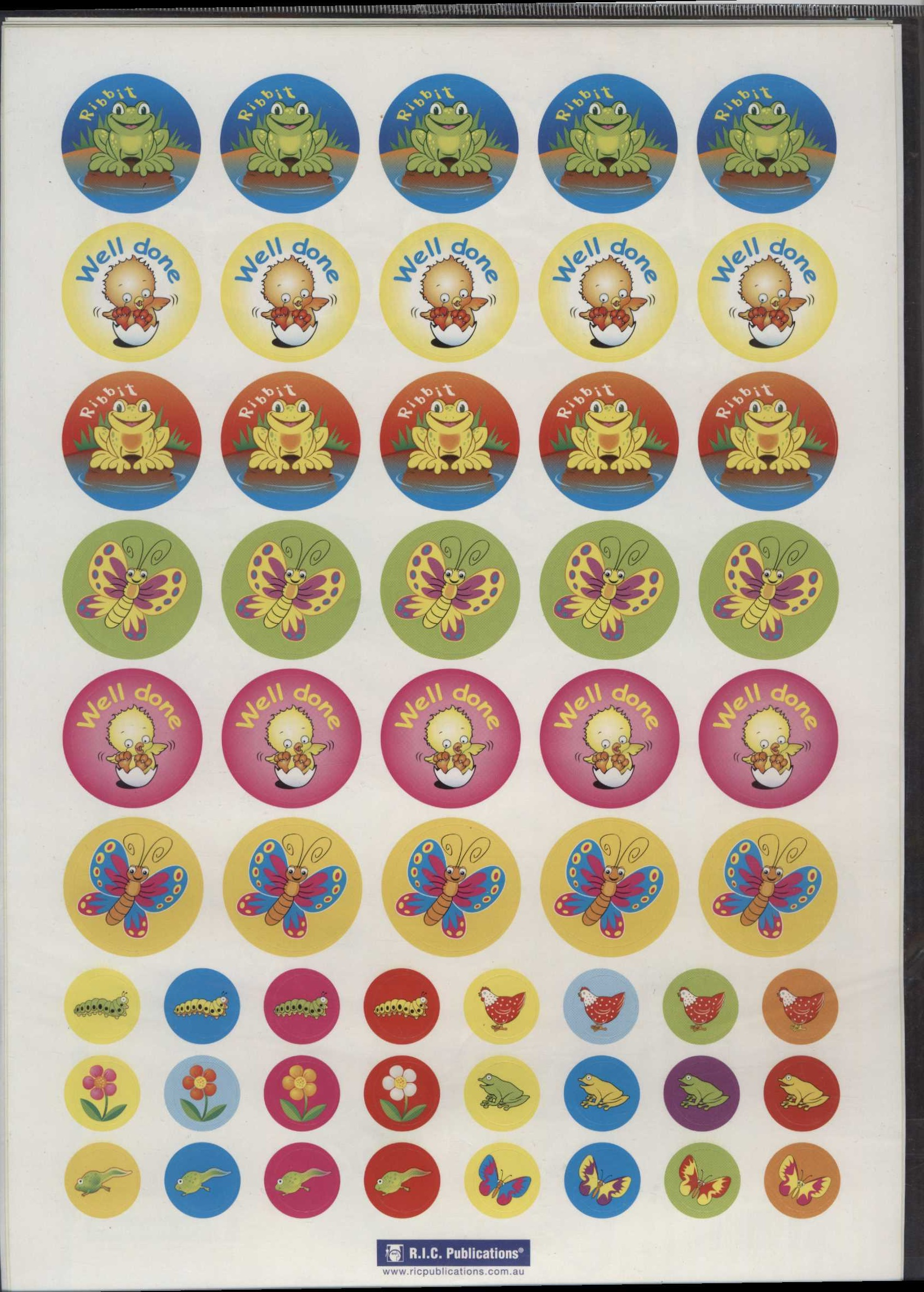 Life Cycles Stickers 270
