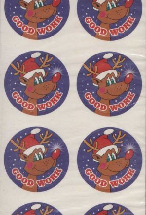 Good Work Christmas Stickers 160