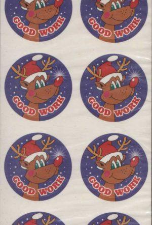 Good Work Christmas Stickers 160