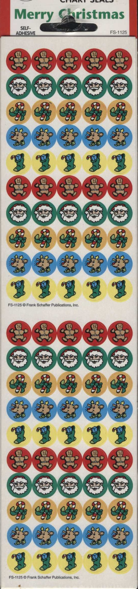 Merry Christmas Stickers 500