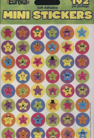 Mini Star Stickers 192