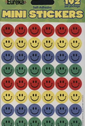 Mini Smiley Faces Stickers 192